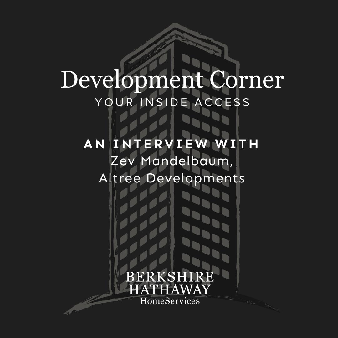 Development Corner Podcast – Altree Developments