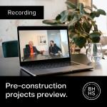 Recording - Pre-construction Preview October 2021