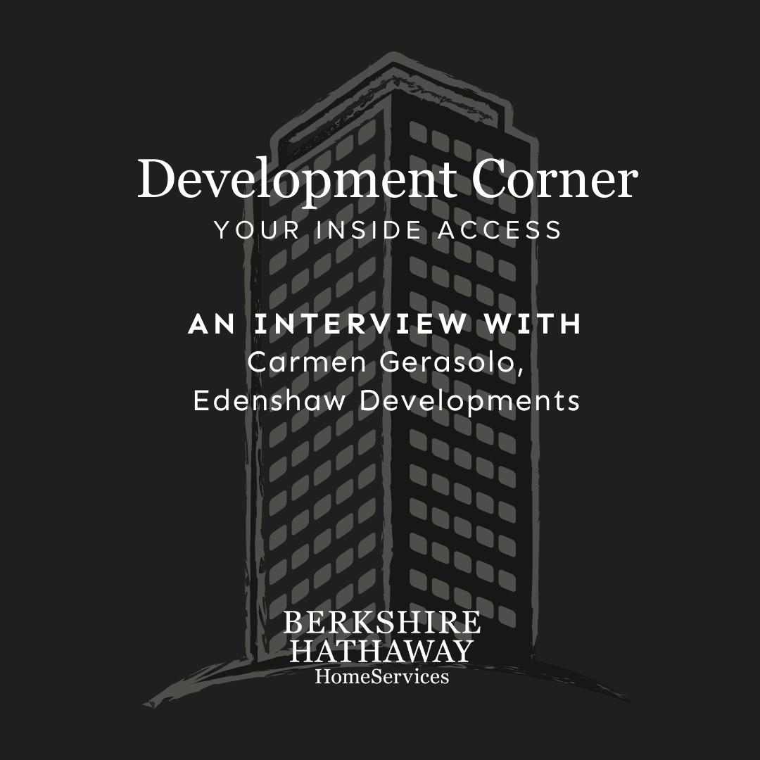 Development Corner – Edenshaw Developments